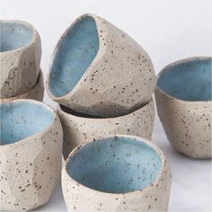 Diamond Pots by Stine Dulong skandihus_london : Charlie McKay click the image or link for more info. Ceramic Pinch Pots, Ceramic Clay, Ceramic Tableware, Ceramic Bowls, Pottery Mugs, Ceramic Pottery, Keramik Design, Pottery Classes, Ceramics Projects