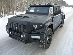 Unknown Tactical Hummer style Jeep
