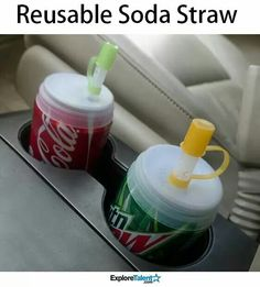 No spilling in the car!
