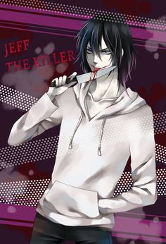 Jeff. Stop licking your knife. Jeff, you're going to hurt yourself. JEFF, STAPH.