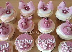 Cupcakes bebé ducha