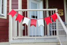 DIY Canada Day Bunting &  Flag