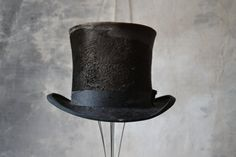 1890's  Beaver Fur Top Hat