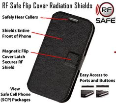 Select Option Above For Availability ThisApple iPhone 6 flip cover case uses a convenient RF radiation shielded flip cover design. Only RF Safe flip cover