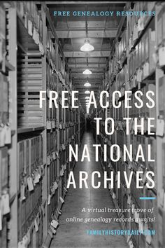The National Archives and Records Administration (NARA) offers a rich trove of online documents, known as Access to Archival Databases (AAD), and it's completely free. Free Genealogy Records, Free Genealogy Sites, Genealogy Forms, Genealogy Research, Family Genealogy, Ancestor Search, Heritage Scrapbook Pages, Family Tree Chart, Family History Book