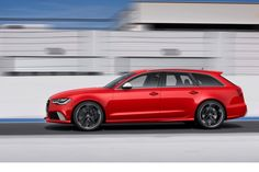 Audi AG has released the first images and details of its redesigned RS 6 Avant, but a company spokesman says the high-performance wagon won't be coming to the U.S.