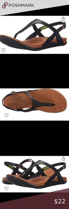 ANHU Salena Thong Sandals - Size 9 Worn only a few times.  Super comfortable. anhu Shoes Sandals