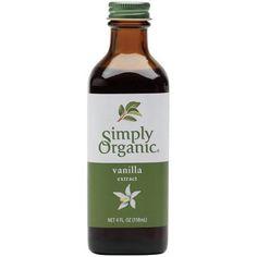 Simply Organic Vanilla Extract -- 4 fl oz Simply Organic http://www.amazon.com/dp/B000WS3AE8/ref=cm_sw_r_pi_dp_AYFcub09K4XFP