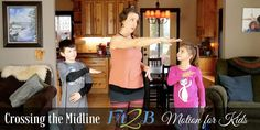 """When this article about how crossing the midline helps kids was posted in the Fit2B member forum, it generated deep discussion. It also created calls for us to produce a midline-crossing video for our Fit2B Kids section of workouts. What our members said about midline crossing """"We do some of these with my son! He has some sensory processing  difficulties and it is so helpful!! It's crazy to watch him calm down  and be able to focus after doing a couple."""" -Megan D. Mummy Tummy, Pelvic Floor Exercises, Diastasis Recti, Belly Pooch, Anytime Fitness, Back Pain, Stay Fit, Core Workouts, Breastfeeding"""