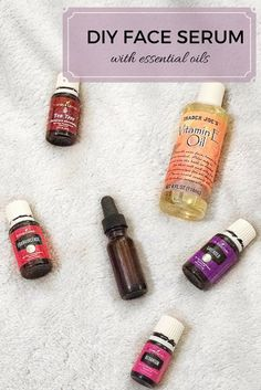DIY Face Serum with Essential Oils - Being Mrs. Beer