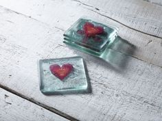 Classic Klaar Red Heart Coaster