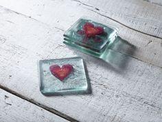 Classic Klaar Red Heart Coaster