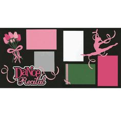 Dance Recital Page Kit
