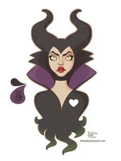 Maleficent by MeoMai on DeviantArt