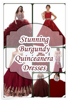 The perfect guide to buying the best Quince dress - Quinceañera Princess Burgundy Quinceanera Dresses, Quince Dresses, Our Girl, Cute Dresses, Fashion Show, How To Memorize Things, Gowns, Princess, Unique