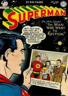 Superman 077. The Man Who Went to Krypton (July, 1977)