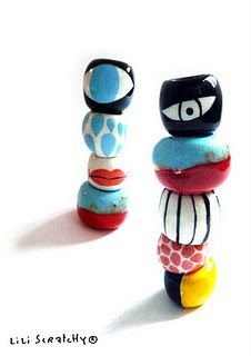 """Ring """"totem"""" lili Scratchy      But the shop is closed ..."""