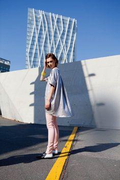 *BurdaStyle* Oversized Short Sleeve Shirt 02/2015
