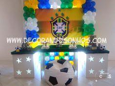 Decoração Clean Brasil- Copa 2014