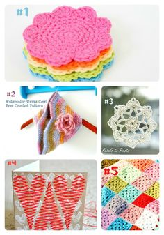 My Merry Messy Life: Hookin On Hump Day Features #29 - free crochet patterns!