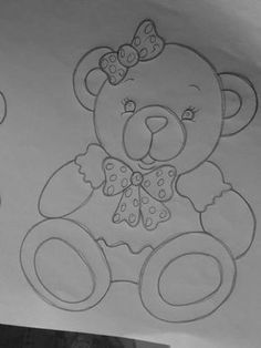 40 Ideas Embroidery Designs Baby Fabrics For 2019 Cute Easy Drawings, Art Drawings For Kids, Art Drawings Sketches Simple, Cartoon Drawings, Baby Embroidery, Hand Embroidery Designs, Applique Patterns, Quilt Patterns, Baby Fabric