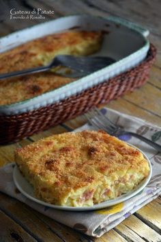 Gâteau di Patate Best Italian Recipes, Eat Smart, Perfect Food, International Recipes, Going Vegan, My Favorite Food, Summer Recipes, Macaroni And Cheese, Food And Drink