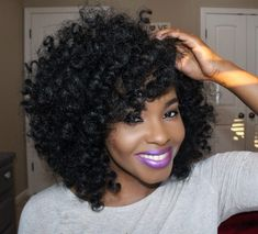 Crochet Braids Hairstyles For Lovely Curly Look | Hairdrome.com