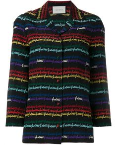 GUCCI Signature Printed Silk Pyjama Top