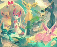 vaporeon and glaceon - Google Search