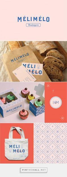 Mélimélo Pink and Blue Bakery Branding