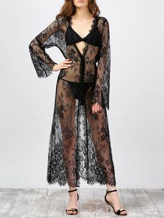 SHARE & Get it FREE   Long Sleeve Sheer Lace Kimono Cover-UpsFor Fashion Lovers only:80,000+ Items • New Arrivals Daily • Affordable Casual to Chic for Every Occasion Join Sammydress: Get YOUR $50 NOW!