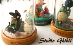 love studio Ghibli, love these music boxes