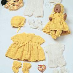 GG137 Baby og Dukkeklær   Gjestal