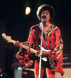 soundsof71: Jimi Hendrix, Isle of Wight, 1970