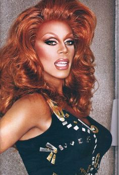 """RuPaul photographed by Mathu Andersen for her book """"Workin' It! RuPaul's Guide to Life, Liberty and the Pursuit of Style"""" Amiyah Scott, Drag Wigs, Rupaul Drag Queen, Alyssa Edwards, Drag Makeup, Covergirl, Lady Gaga, Makeup Cosmetics, Beautiful People"""