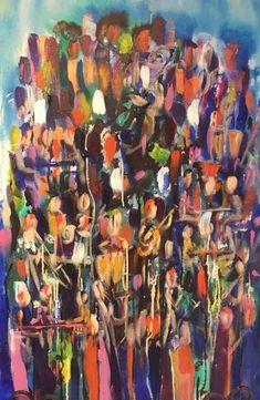 Jazz Club Jazz Club, Saatchi Art, Original Paintings, Abstract Art, Canvas, Gallery, Tela, Canvases