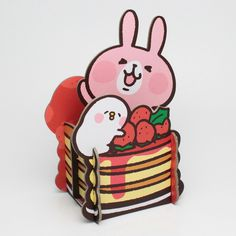 PChome Online 商店街 - 研達Toy Friend - (研達Toy Friend)卡娜赫拉草莓置物架 全2款造型