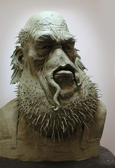Gnomon School of Visual Effects Fall 2012 Best of Term  Winner - Sculpture. Student work by Leonardo Krajden.