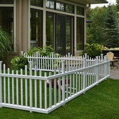Zippity Outdoor Products 4 ft. H x 3 ft. W Huntersville Privacy Screen   Wayfair Garden Fence Panels, Diy Fence, Cheap Garden Fencing, Decorative Garden Fencing, Patio Fence, Backyard Fences, Aluminum Fence, Metal Fence, Vinyl Fencing