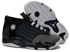 brand new 89c72 cd34f Now Buy Mens Black Grey Basketball Shoes Air Jordan 14 High Quality Save Up  From Outlet Store at Nikelebron.