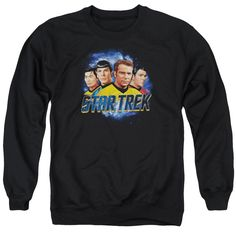 """Checkout our #LicensedGear products FREE SHIPPING + 10% OFF Coupon Code """"Official"""" Star Trek / The Boys - Adult Crewneck Sweatshirt - Star Trek / The Boys - Adult Crewneck Sweatshirt - Price: $39.99. Buy now at https://officiallylicensedgear.com/star-trek-the-boys-adult-crewneck-sweatshirt"""