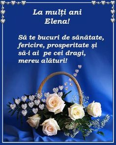 La Multi Ani Constantin, Floral Wreath, Lily, Birthday, Wreaths, Home Decor, Te Quiero, Floral Crown, Birthdays