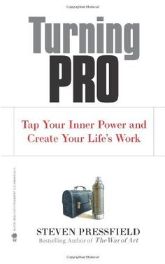 Turning Pro: Tap Your Inner Power and Create Your Life's Work by Steven Pressfield, http://www.amazon.com/dp/1936891034/ref=cm_sw_r_pi_dp_Tmgcqb0TN8PGD