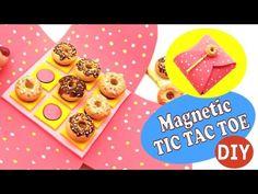 Magnetic TIC TAC TOE- DIY- Polymer clay/ EVA Foam tutorial