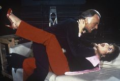 """taylor/burton   Burton and Taylor mugging in the 1983 Broadway revival of """"Private ..."""