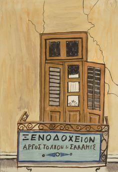 Yannis Tsarouchis- Γιάννης Τσαρούχης Artist Painting, Artist Art, Modern Art, Contemporary Art, Greece Painting, Art Of Man, 10 Picture, Greek Art, Orthodox Icons