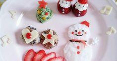 味つけはしないのでほぼポテトの味ですが、おうちにある材料でできて、クリスマスの雰囲気が出るので是非試してみてください★