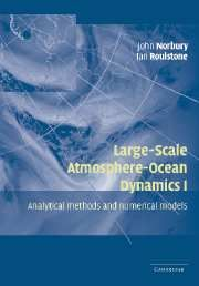 John Norbury and Ian Roulstone (eds.), Large-Scale Atmosphere-Ocean Dynamics