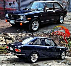Classic Japanese Cars, Japanese Sports Cars, Toyota Corolla, Corolla Ke30, Retro Cars, Vintage Cars, Classic Trucks, Classic Cars, Japan Cars