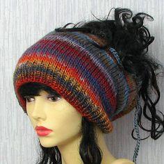 Tam hat for dreadlocks Dread Slouchy Beanie hat by AlbadoFashion